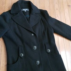 women's black Kenneth cole reaction coat
